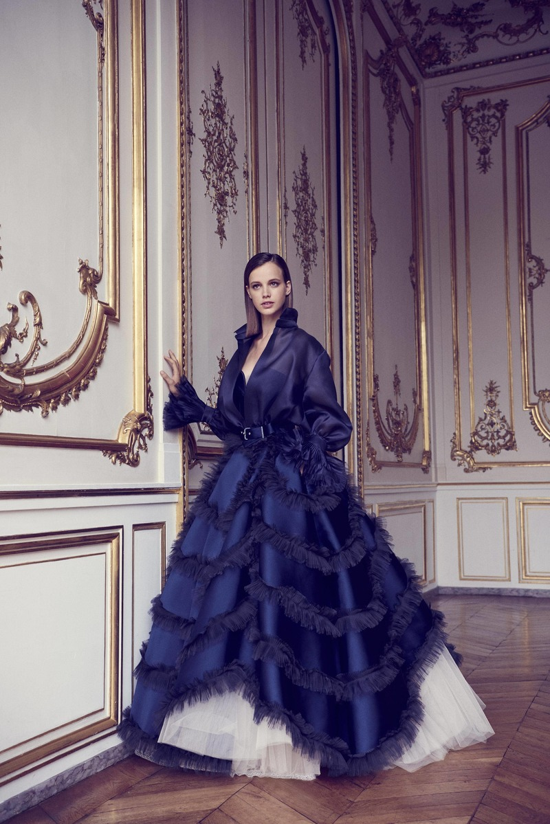 Alexis Mabille Fall Winter 2017 Couture Fashion Show Paris